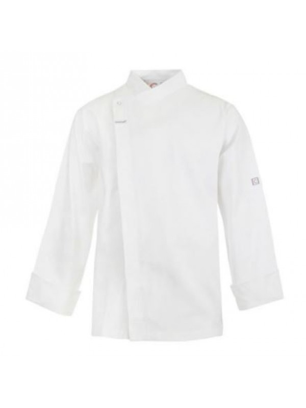 CHEFS TUNIC WITH CONCEALED FRONT - LONG SLEEVE