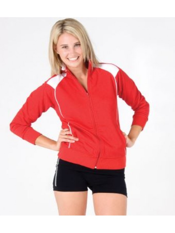 UNBRUSHED FLEECE SWEATER FOR LADIES/JUNIORS