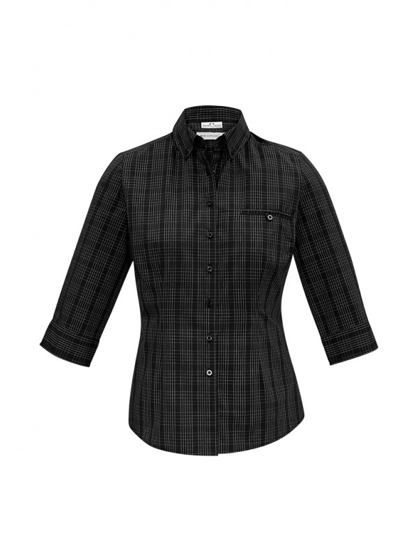 LADIES HARPER 3/4 SLEEVE SHIRT