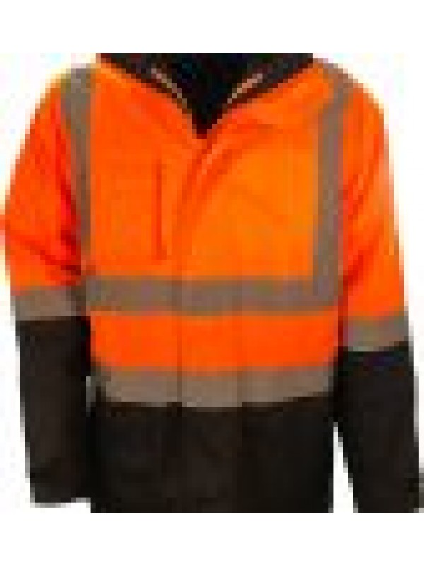 MENS 6 IN 1 RAIN JACKET COMBO WITH TRU REFLECTIVE TAPE